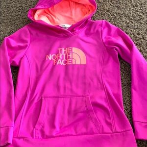Like new north face sweatshirt